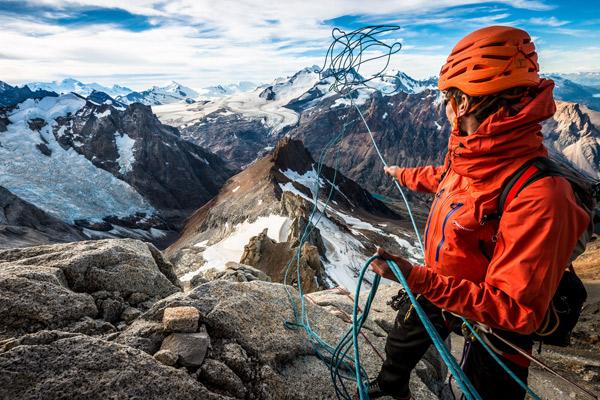 Mount Meru climbing